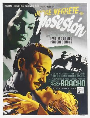 La posesión - Mexican Movie Poster (thumbnail)