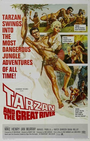 Tarzan and the Great River - Movie Poster (thumbnail)