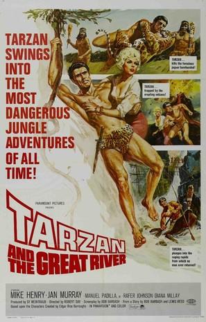 Tarzan and the Great River - Movie Poster (thumbnail)