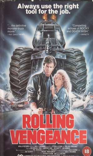 Rolling Vengeance - British Movie Cover (thumbnail)