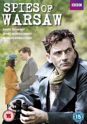 Spies of Warsaw - British DVD movie cover (thumbnail)