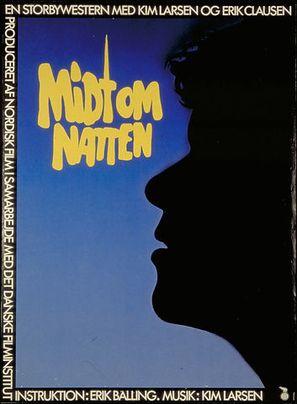 Midt om natten - Danish Movie Poster (thumbnail)