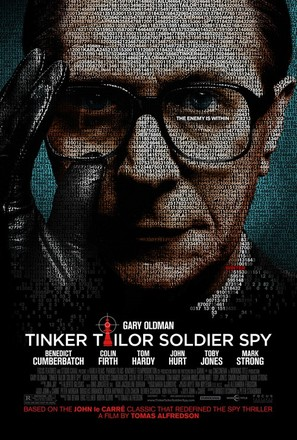 Tinker Tailor Soldier Spy - Movie Poster (thumbnail)