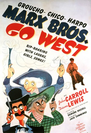 Go West - Movie Poster (thumbnail)