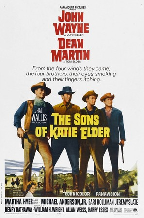 The Sons of Katie Elder - Theatrical movie poster (thumbnail)