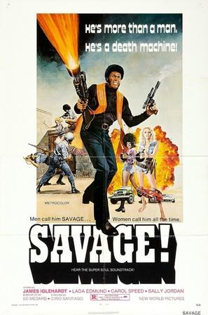 Savage! - Movie Poster (thumbnail)
