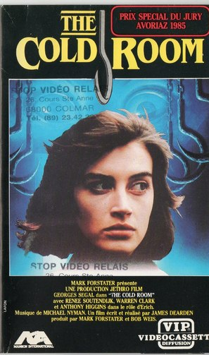 The Cold Room - French VHS cover (thumbnail)