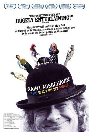 Saint Misbehavin': The Wavy Gravy Movie - Movie Poster (thumbnail)
