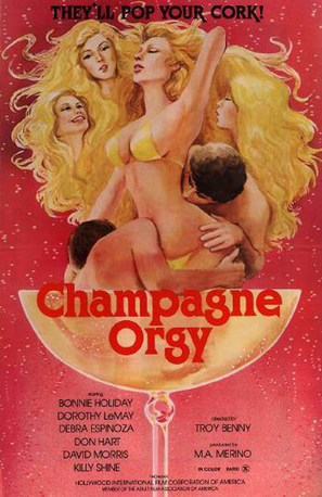 Champagne Orgy - Movie Poster (thumbnail)