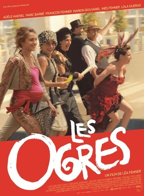Les ogres - French Movie Poster (thumbnail)