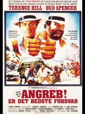 Non c'é due senza quattro - Danish Movie Poster (thumbnail)