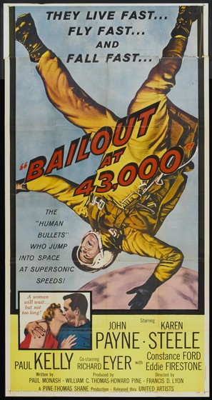 Bailout at 43,000 - Movie Poster (thumbnail)