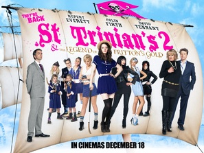 St Trinian's 2: The Legend of Fritton's Gold - British Movie Poster (thumbnail)