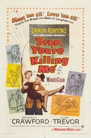 Stop, You're Killing Me - Theatrical movie poster (thumbnail)
