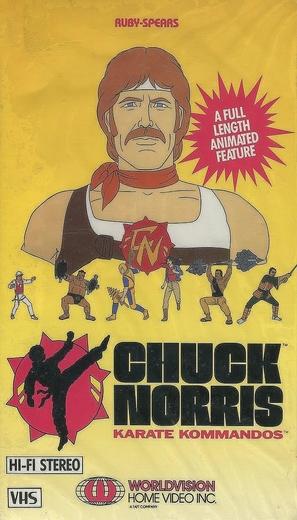 """Chuck Norris: Karate Kommandos"" - VHS movie cover (thumbnail)"