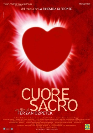 Cuore sacro - Italian Movie Poster (thumbnail)