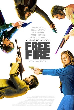 Free Fire - British Movie Poster (thumbnail)