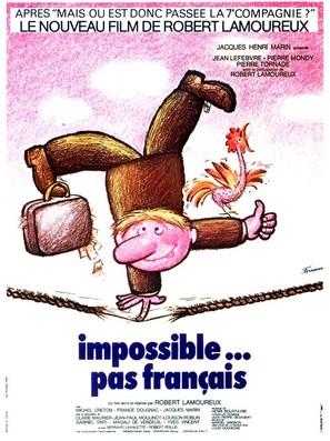 Impossible... pas français