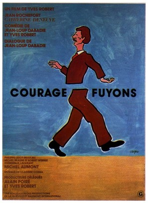 Courage fuyons - French Movie Poster (thumbnail)
