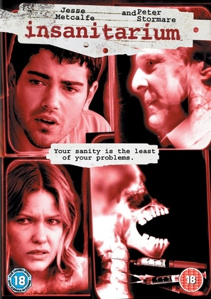 Insanitarium - British DVD cover (thumbnail)