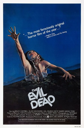 The Evil Dead - Movie Poster (thumbnail)