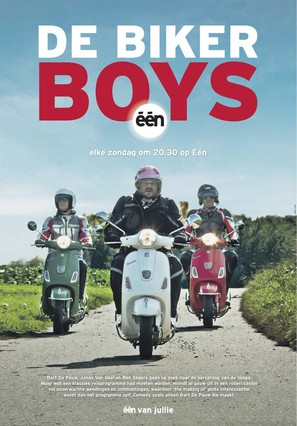 """De Biker Boys"" - Belgian Movie Poster (thumbnail)"