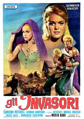 Gli invasori - Italian Movie Poster (thumbnail)