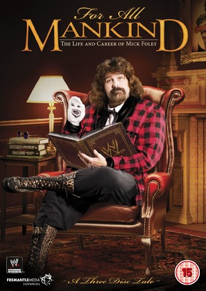 WWE for All Mankind: Life & Career of Mick Foley - British Movie Cover (thumbnail)