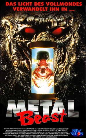 Project: Metalbeast - German VHS movie cover (thumbnail)