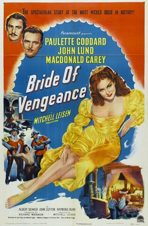 Bride of Vengeance - Movie Poster (thumbnail)
