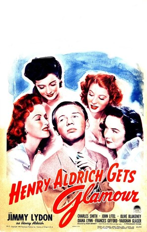 Henry Aldrich Gets Glamour - Movie Poster (thumbnail)