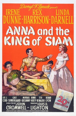 Anna and the King of Siam - Movie Poster (thumbnail)