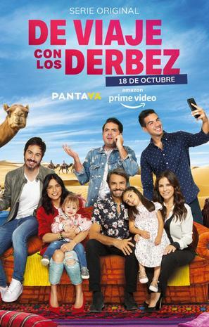 """""""De Viaje Con Los Derbez"""" - Mexican Movie Poster (thumbnail)"""