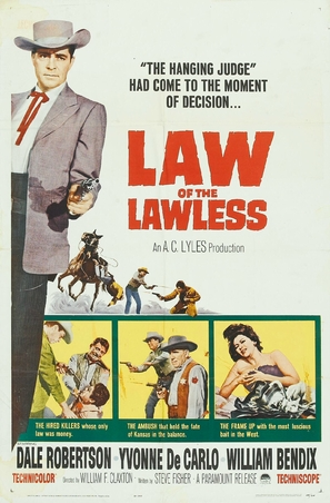 Law of the Lawless - Movie Poster (thumbnail)