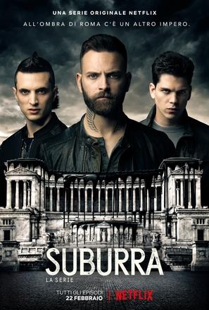 """Suburra: la serie"" - Italian Movie Poster (thumbnail)"