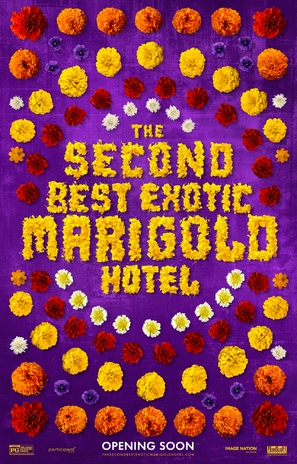 The Second Best Exotic Marigold Hotel - Movie Poster (thumbnail)