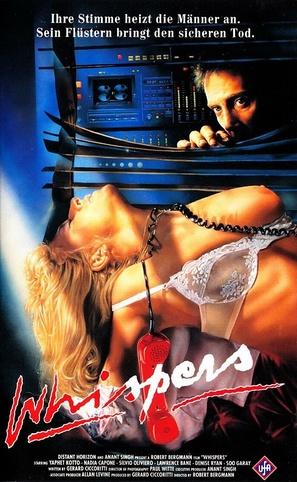 A Whisper to a Scream - German VHS movie cover (thumbnail)