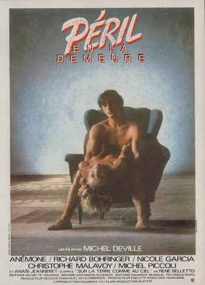Péril en la demeure - French Movie Poster (thumbnail)