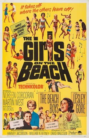 The Girls on the Beach - Movie Poster (thumbnail)