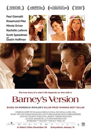 Barney's Version - Canadian Movie Poster (thumbnail)