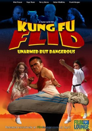 Kung Fu Flid - British Movie Poster (thumbnail)