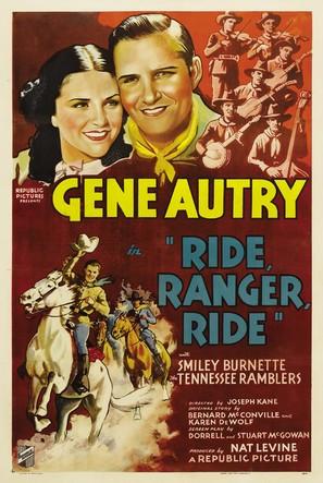 Ride Ranger Ride - Movie Poster (thumbnail)