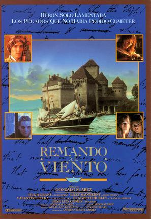 Remando al viento - Spanish Movie Poster (thumbnail)