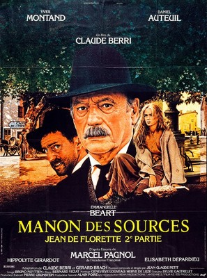 Manon des sources - French Movie Poster (thumbnail)