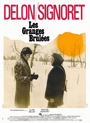 Les granges brulées - French Movie Poster (thumbnail)
