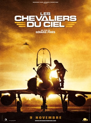 Les chevaliers du ciel - French Movie Poster (thumbnail)