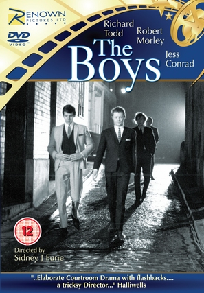 The Boys - British Movie Cover (thumbnail)