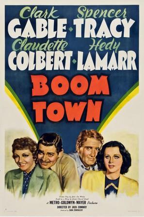Boom Town - Movie Poster (thumbnail)