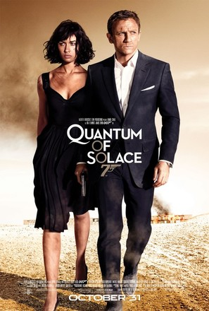 Quantum of Solace - Movie Poster (thumbnail)