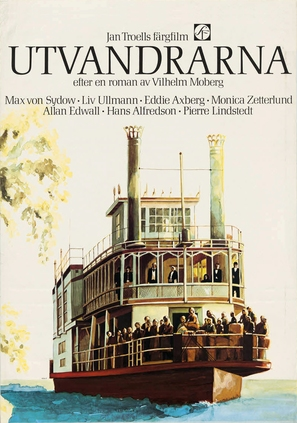 Utvandrarna - Swedish Movie Poster (thumbnail)